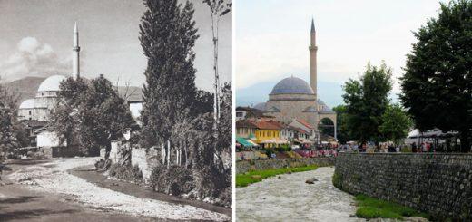 Фотограф переснял места, сфотографированные почти 100 лет назад, чтобы показать, как всё изменилось (19 фото)