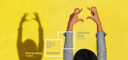 Институт Pantone объявил цвет 2021 года. Точнее, их два (3 фото)