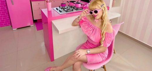 Одержимая розовым цветом бразильянка стала профессиональной Барби в реальной жизни (7 фото)