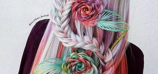 Фантастические косички от художницы-самоучки из Македонии