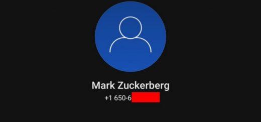 Согласно телефонному номеру, просочившемуся в сеть в результате взлома Facebook, Марк Цукерберг использует Signal (2 фото)